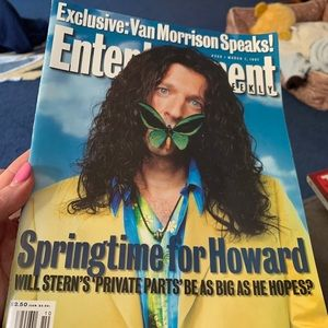 HOWARD STERN March 1997 ENTERTAINMENT WEEKLY Magaz